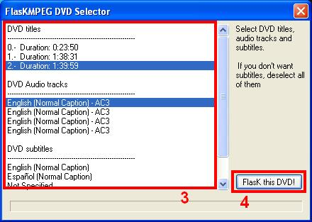 FlasK's DVD Selector